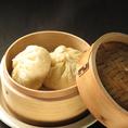 【食べ放題で◆たんぱお◆満喫1】叉焼饅:ゴロゴロチャーシューがタップリ入った台湾で食べたあの味 ※食べ放題コースに含む