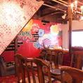 1階光が差し込むソファー席。中崎町のレトロな空間がそのまま店内に☆【茶屋町・中崎町・誕生日・カフェ・女子会・ママ会・貸切・和】