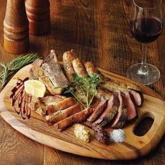東海産肉料理の盛り合せ(ピッコロ)