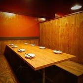 少し大きめの8名様用テーブル席!プチ宴会にいかがですか?