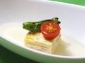 料理メニュー写真白菜と玉子の蒸し物