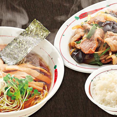 しっかりと手間をかけた一杯。懐かしく素朴ならーめんと北京鍋で仕上げる定食のお店。