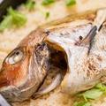 料理メニュー写真土鍋で炊く鯛飯(3~5人前)
