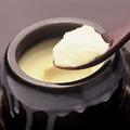 料理メニュー写真純系名古屋コーチン玉子の壷焼きチーズプリン