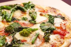 料理メニュー写真フレッシュトマトピッツァ/ハーフサイズ