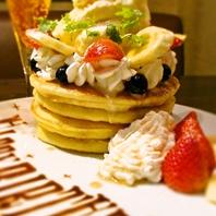 ■02.ふんわりラブリーなパンケーキでお祝いムードMAX!!