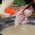 博多名物!!『水炊き』 コクのあるあっさりしたスープはコラーゲンたっぷり。(要予約)