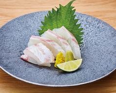 料理メニュー写真真鯛のお造り