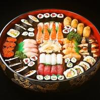 【出前承ります】寿司盛り合わせは4850円~