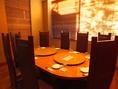 大切なお客様とのお食事会には個室席が御薦めです。