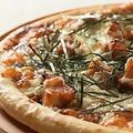 料理メニュー写真照焼きチキンピザ