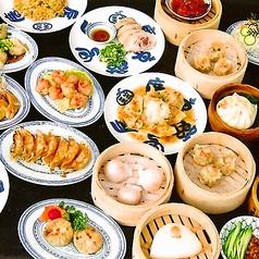 中華菜館 てんじく 西明石店のコース写真