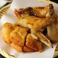 料理メニュー写真国産鶏の半身揚げ