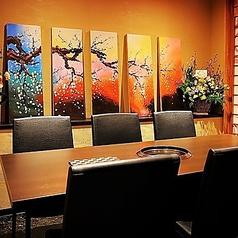 個室焼肉 夜桜 OSUの雰囲気1