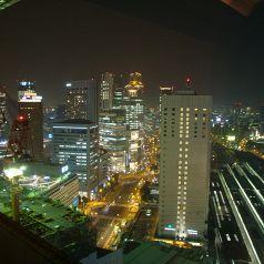 カップルシートから見える夜景☆