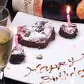 誕生日は盛大にお祝いさせていただきます!