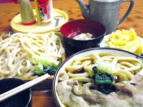 40年間地元に愛されるうどん屋さん。とにかく、麺がすごく、王道の武蔵野うどん。