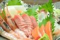 料理メニュー写真お刺身3種盛り/5種盛り