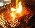 料理メニュー写真【糸島牛】 糸島牛の炭火炙り
