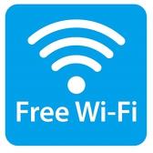 フリーWi-Fiのご用意ございます。通信料を気にせずお調べ物等にご活用下さい!