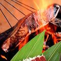 料理メニュー写真≪居酒屋わたみん家のおすすめ≫店炙り 藁焼カツオ