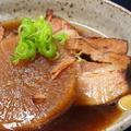 料理メニュー写真豚角煮とふろふき大根