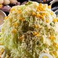 料理メニュー写真バカ盛野菜サラダ