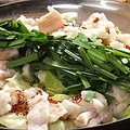 料理メニュー写真もつ鍋/津軽海峡寄せ鍋