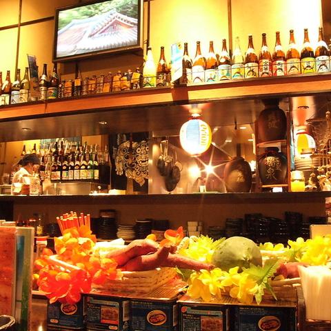 南の島が恋しくなったら【なんちち食堂】!沖縄出身の料理長が作る絶品☆沖縄料理♪