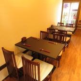 テーブル席は4名様掛けが2組ございます!明るい店内でお食事をお楽しみいただけます。!≪経堂 和食 早雲 日本酒 割烹 居酒屋 カジュアル接待 歓送迎会 記念日 デート 貸切≫