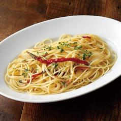 スパゲッティ 岐阜県産唐辛子あじめこしょうのペペロンチーノ ペルアデッソ風