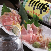鮮度が命の料理とともに、グイグイお酒が進みます