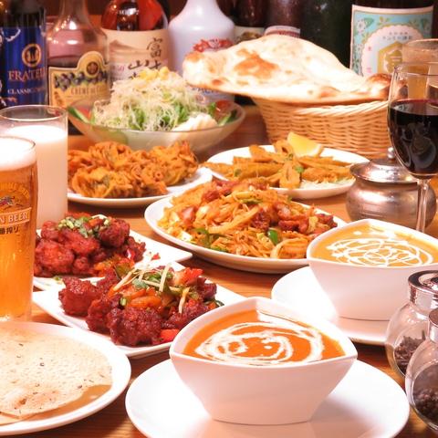 ★人形町駅から徒歩1分★本格インド料理がリーズナブルな料金で楽しめるお店です♪