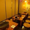 2階はゆったり宴会に◎調布でまったりしたいときも焼肉×ホルモンきんたろー調布店へ。