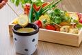 料理メニュー写真静岡の無農薬野菜のバーニャカウダ