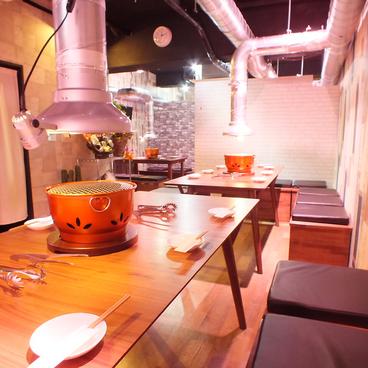 黒毛和牛焼肉と韓国料理 ハヌルの雰囲気1