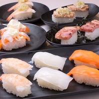 ☆食べ放題コース限定☆焼肉と一緒に寿司も食べ放題!