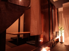 個室dining 燈の雰囲気1