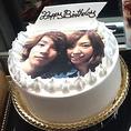 特典紹介★写真ケーキも対応可能!