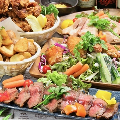 ビアガーデン&ハワイアンバル アロハ カルーナ 新宿西口店のおすすめ料理1