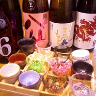 日本酒・焼酎充実しています
