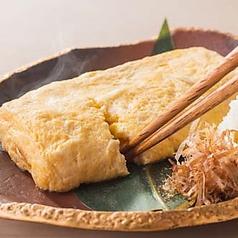 料理メニュー写真■お店で手作りの玉子焼き