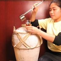 本場中国の甕入り紹興酒