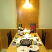 【完全個室は2名様~】個室多数完備。個室は2名様~ご利用可能。接待や会食、晴れの日でおすすめの落ち着いた店内です。女子会や誕生日・記念日等でも個室で大切な人とご寛ぎください。普段と違う少し贅沢なお食事を。