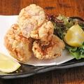 料理メニュー写真自家製鶏の唐揚げ