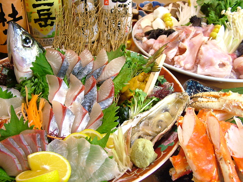 旬の食材を使用した季節の料理・郷土料理が味わえるお店【味どころ 五條】