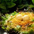料理メニュー写真恐竜の巣サラダ
