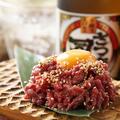 料理メニュー写真★ 1日5食限定・ローストビーフユッケ