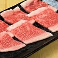 料理メニュー写真黒毛和牛上カルビ(ブリスケ)