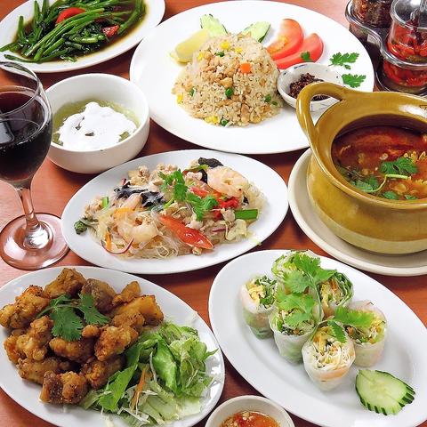 本郷三丁目駅からすぐのところ学生でも会社員でもお気軽にベトナム料理をご堪能!!